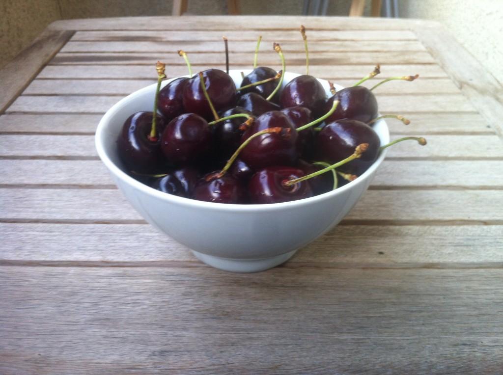 Bol de cerezas del Bierzo